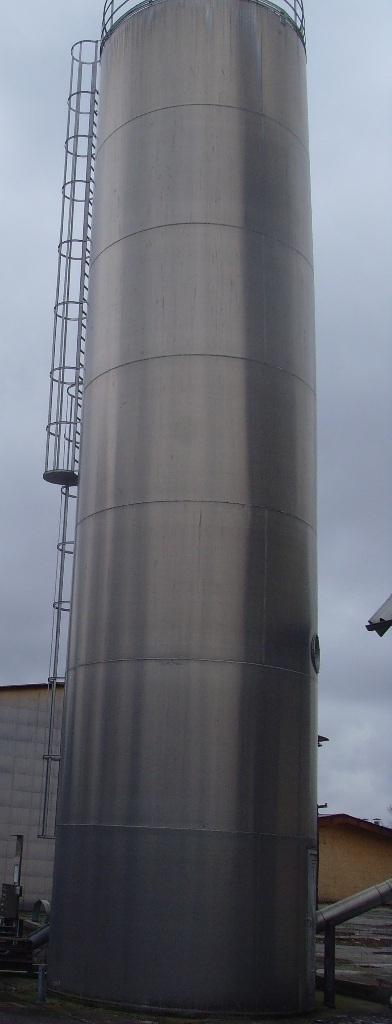 Zakup silosów aluminiowych powyżej 75m3, np. 80 m3, 100 m3, 120m3
