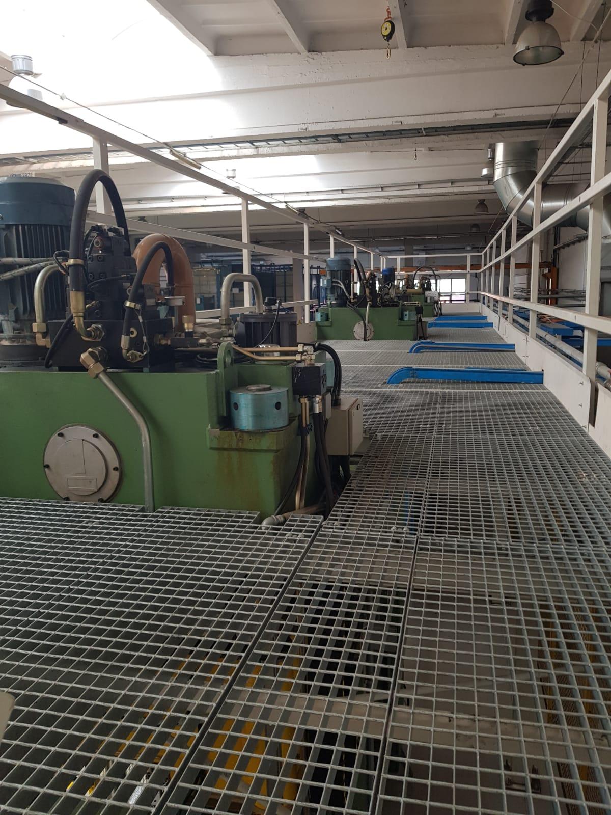 Linia do produkcji elementów z blachy